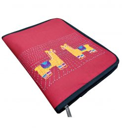 Red and Yellow Document Holder